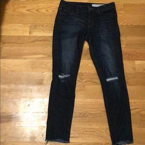 Treasure & Bond Size 27 Raw Hem Skinny Fit Jeans
